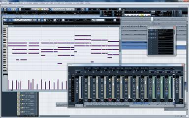 音楽制作で使用するソフトCUBASE