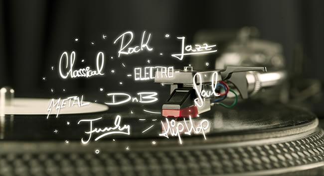 ROCK,JAZZ,POPS,DANCE,HIPHOPどんなジャンルを作りますか